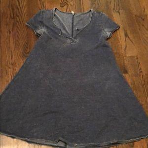 Z supply Navy T dress